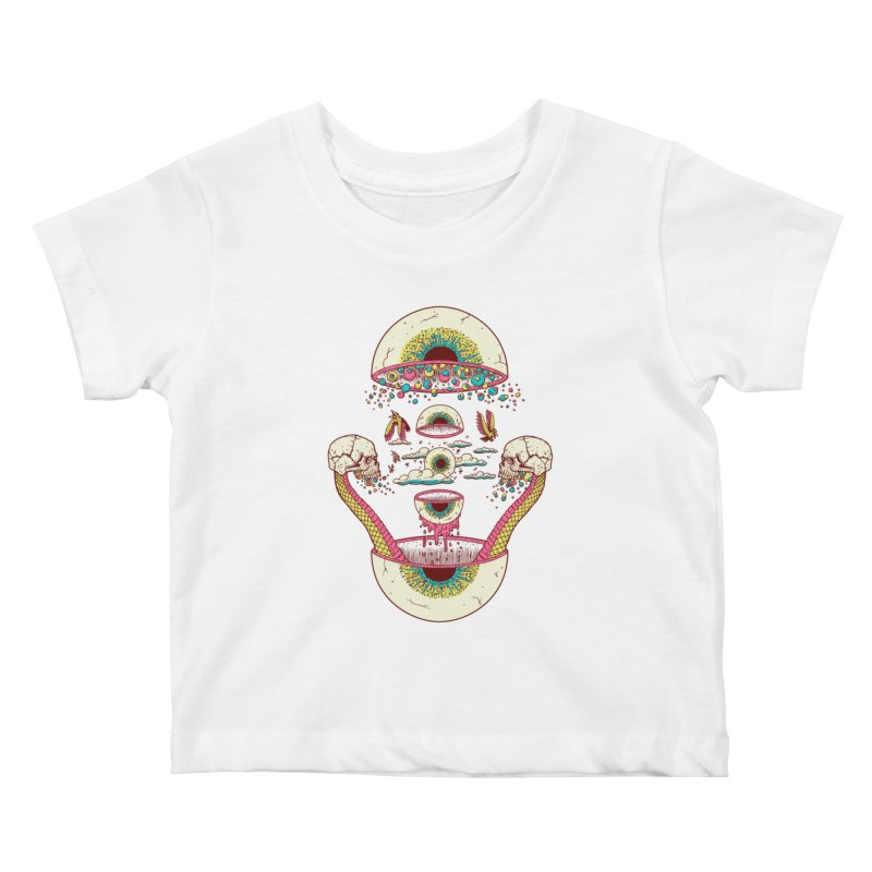 Sky Ball Kids Baby T-Shirt by Big Pizza