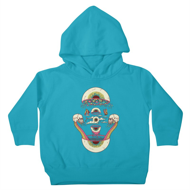Sky Ball Kids Toddler Pullover Hoody by Big Pizza
