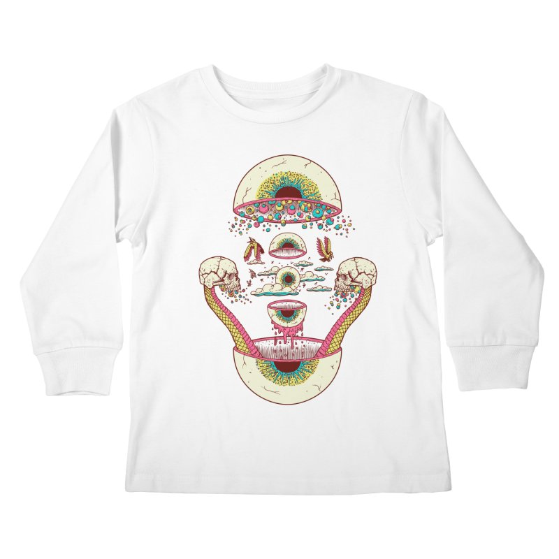Sky Ball Kids Longsleeve T-Shirt by Big Pizza