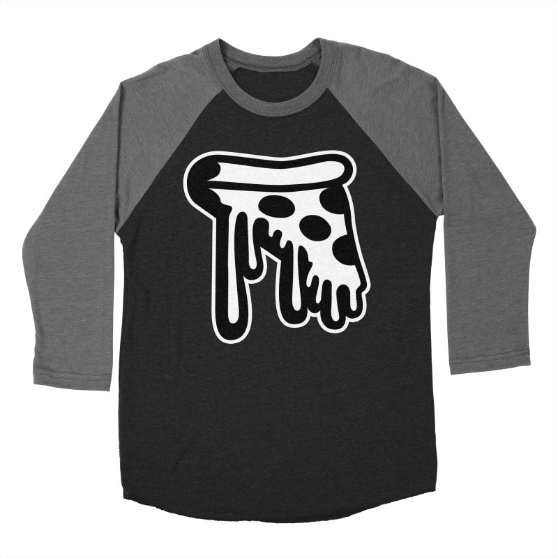Pizza Drip Women's Baseball Triblend T-Shirt by Big Pizza