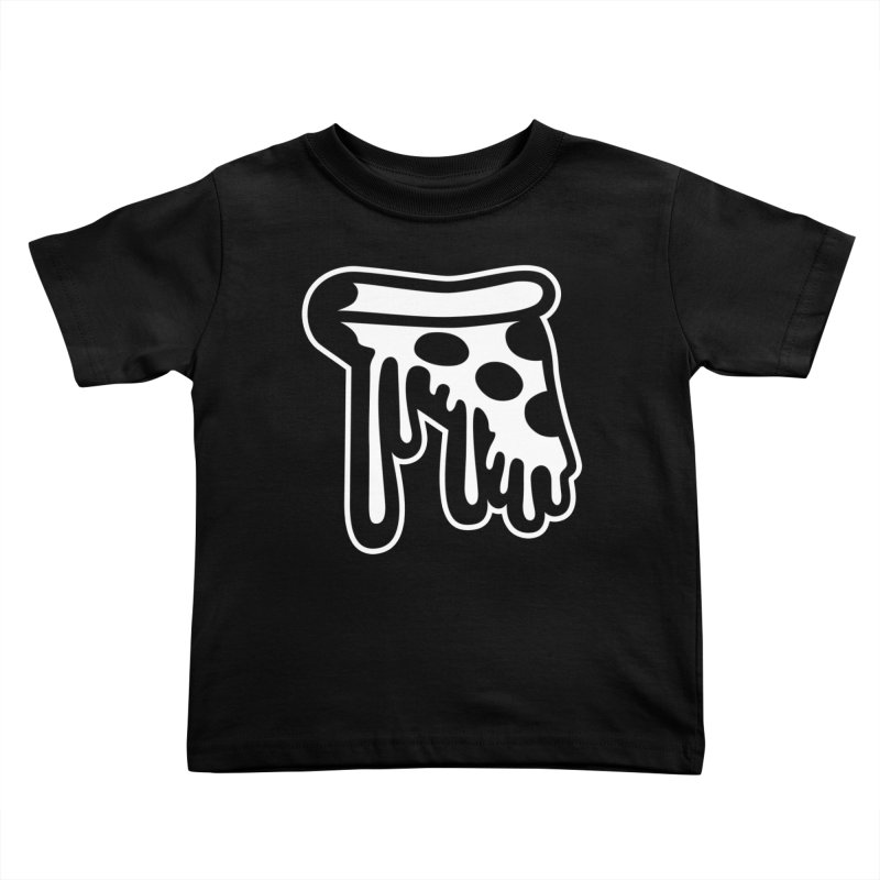Pizza Drip Kids Toddler T-Shirt by Big Pizza