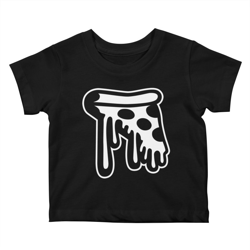 Pizza Drip Kids Baby T-Shirt by Big Pizza