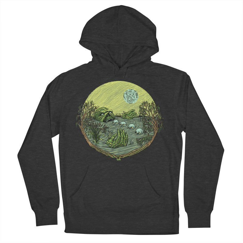 Swamp Pizza Women's Pullover Hoody by Big Pizza