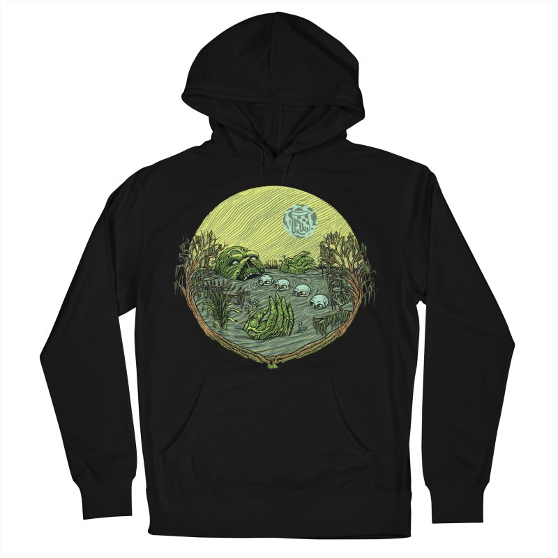 Swamp Pizza Men's Pullover Hoody by Big Pizza