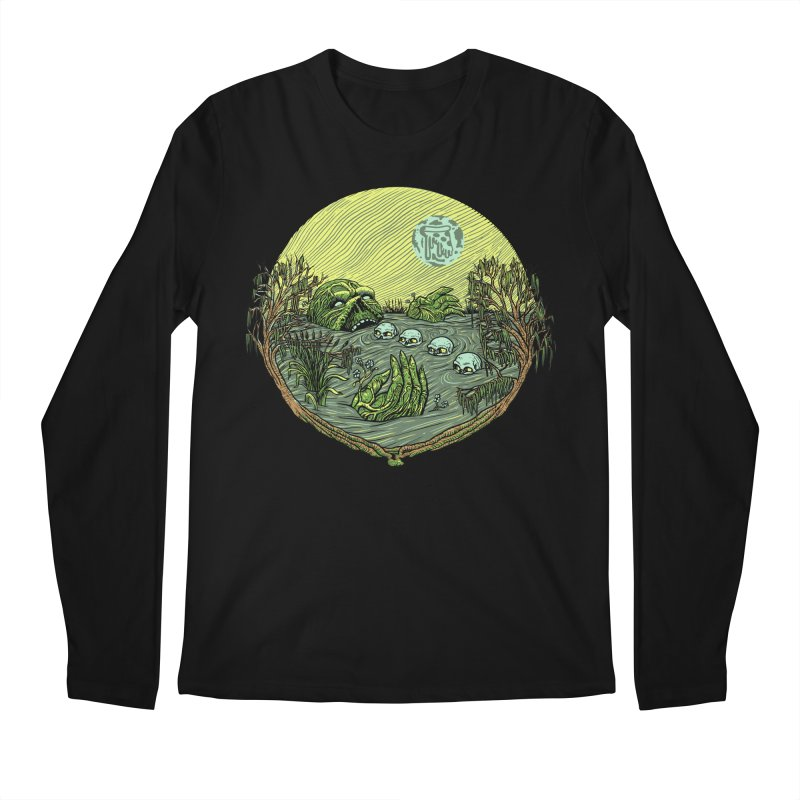 Swamp Pizza Men's Longsleeve T-Shirt by Big Pizza