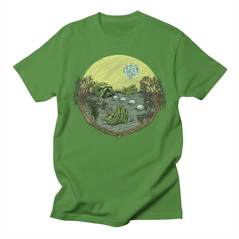 Swamp Pizza Men's T-shirt by Big Pizza