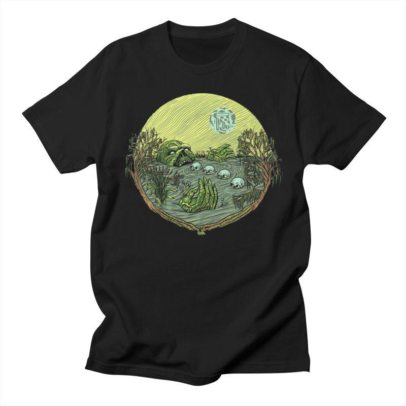 Swamp Pizza Men's T-shirt by Big Pizza