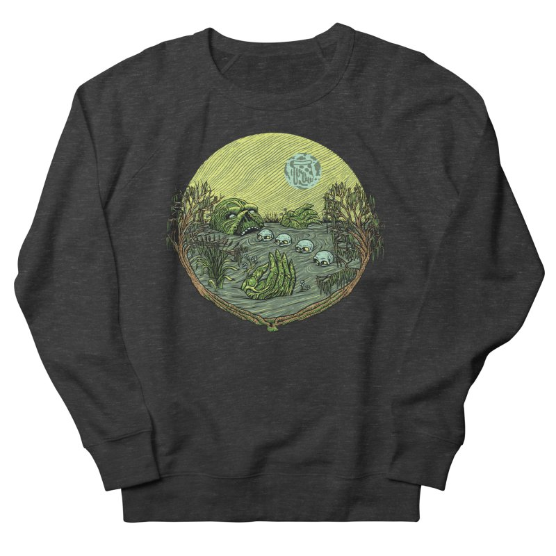 Swamp Pizza Women's Sweatshirt by Big Pizza