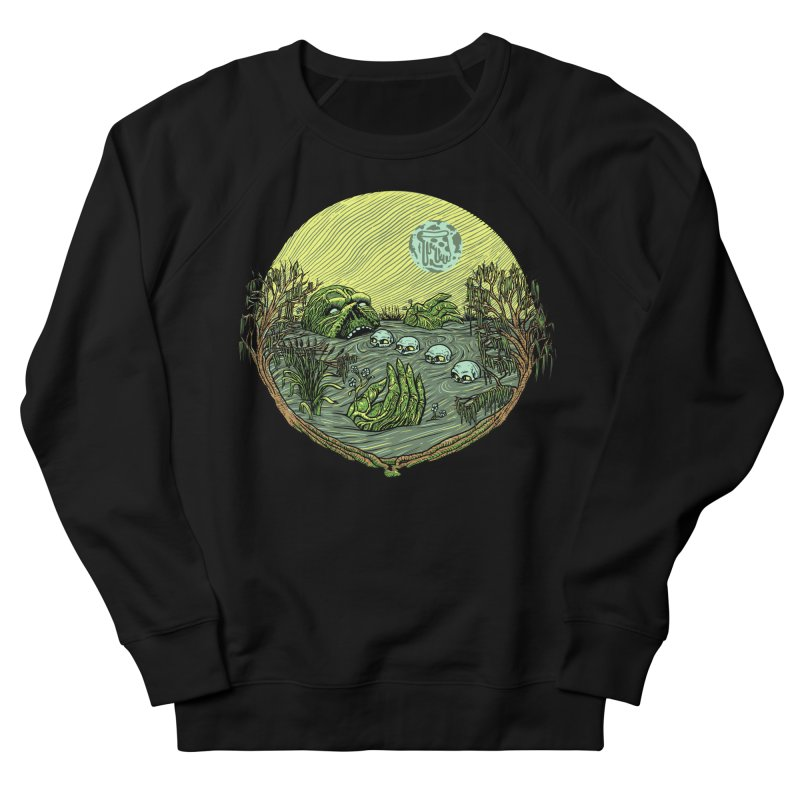 Swamp Pizza Men's Sweatshirt by Big Pizza