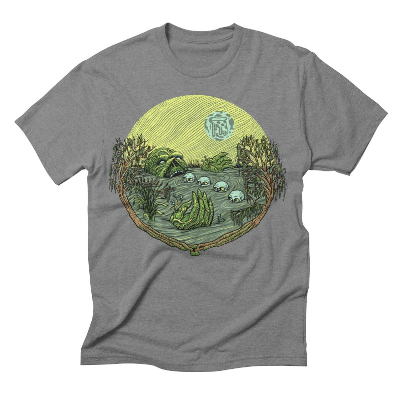Swamp Pizza Men's Triblend T-shirt by Big Pizza