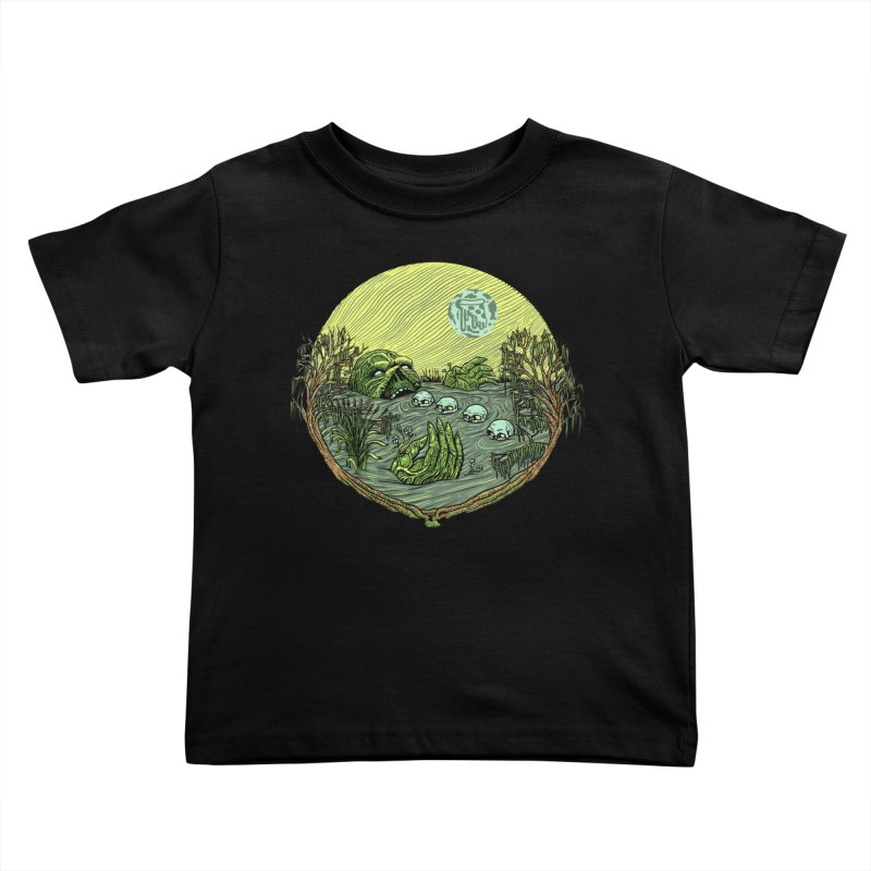 Swamp Pizza Kids Toddler T-Shirt by Big Pizza