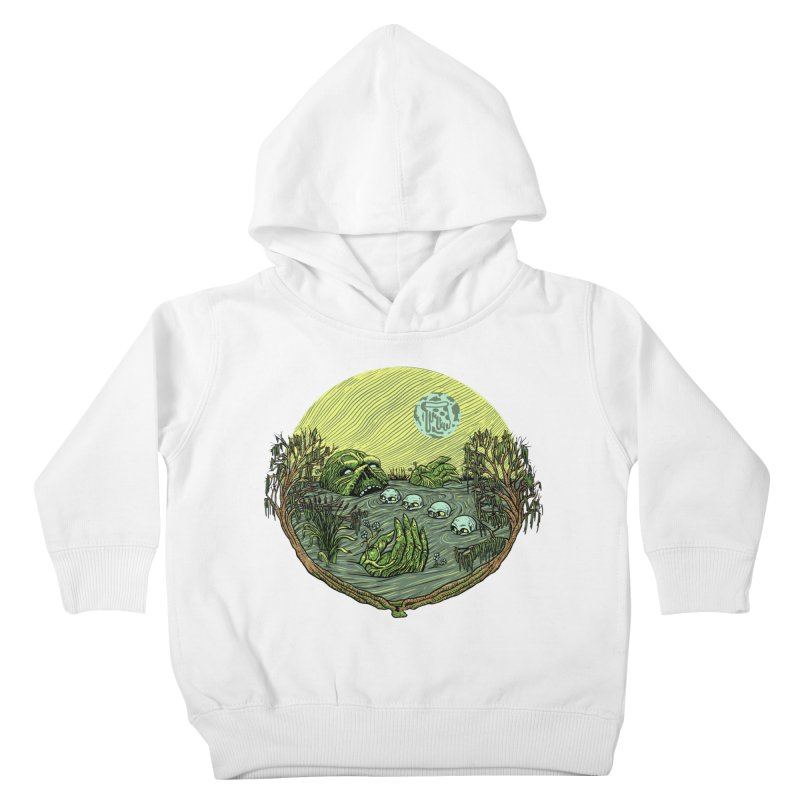 Swamp Pizza Kids Toddler Pullover Hoody by Big Pizza