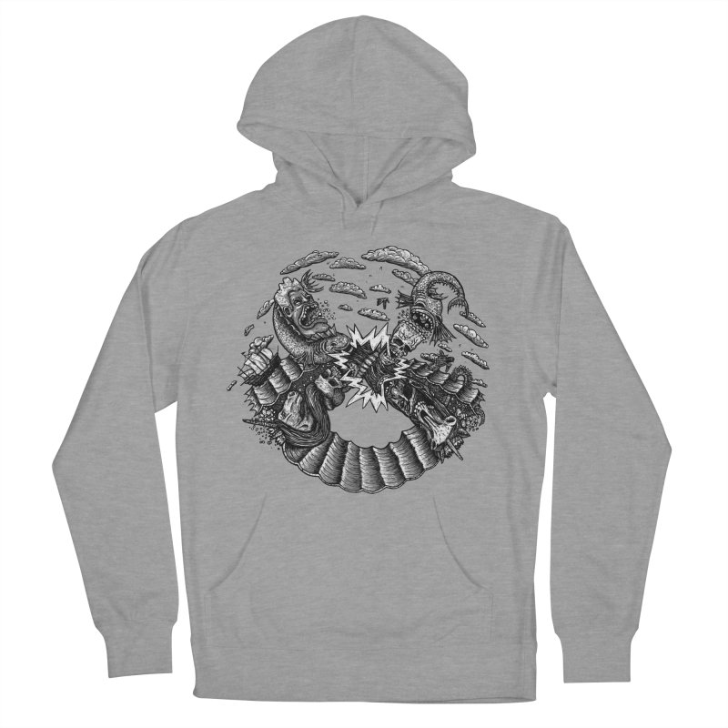 Sea Beast Women's Pullover Hoody by Big Pizza