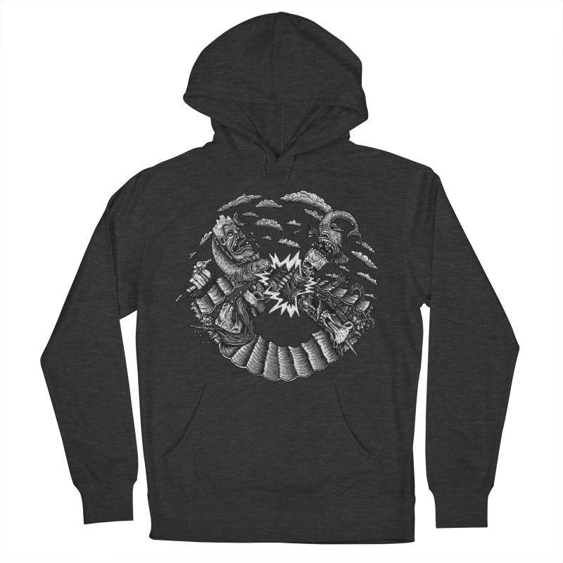 Sea Beast Men's Pullover Hoody by Big Pizza