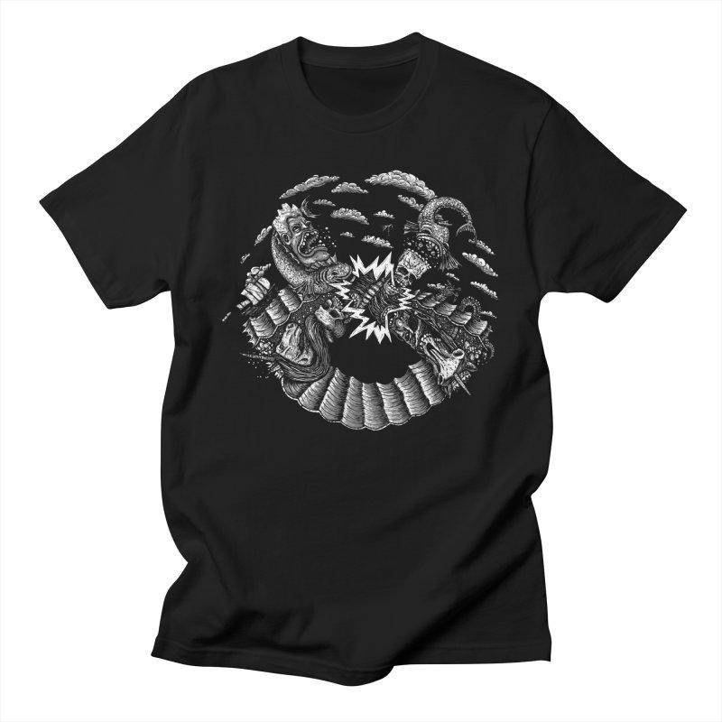 Sea Beast Men's T-shirt by Big Pizza