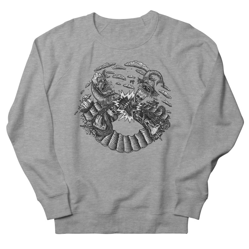 Sea Beast Women's Sweatshirt by Big Pizza