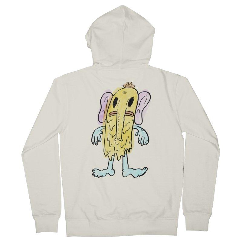 Ghostyphant Women's Zip-Up Hoody by bigwhoop's Artist Shop