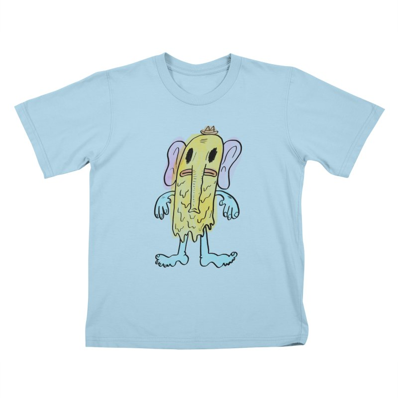 Ghostyphant Kids T-shirt by bigwhoop's Artist Shop