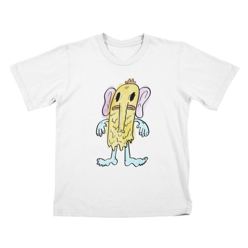 Ghostyphant Kids T-Shirt by bigwhoop's Artist Shop