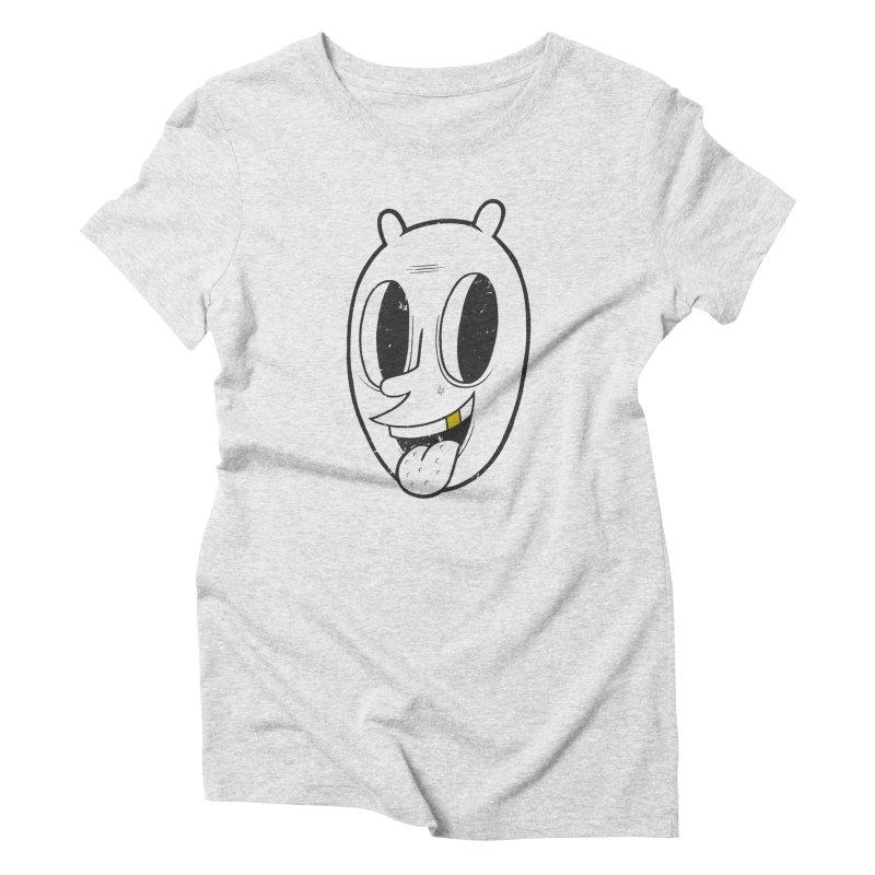 Gold Toof Women's Triblend T-Shirt by bigwhoop's Artist Shop