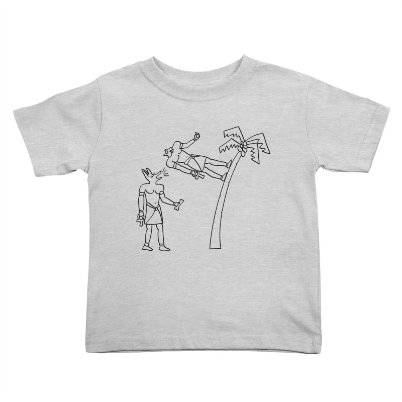 Egyptian Squirrel Chase Kids Toddler T-Shirt by billkingcomics's Artist Shop