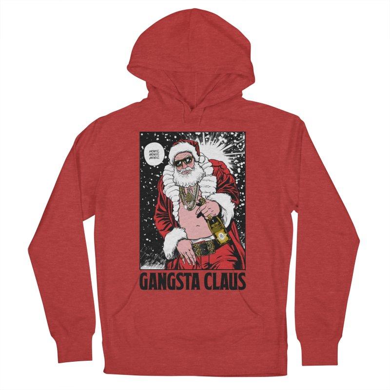 Gangsta Claus Men's Pullover Hoody by Billmund's Artist Shop