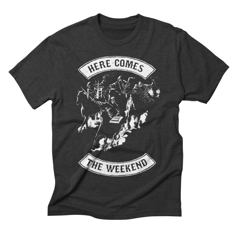 Here Comes The Weekend   by Billmund's Artist Shop