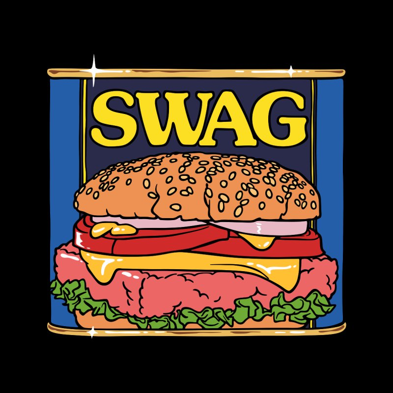 SWAG Men's T-shirt by Billmund's Artist Shop