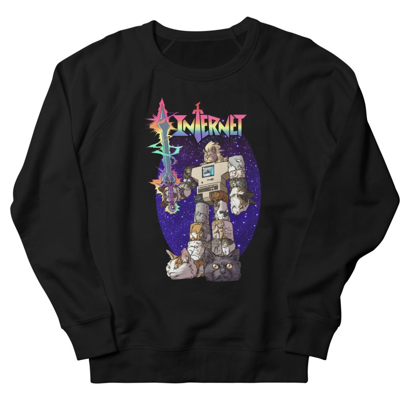 INTERNET Men's Sweatshirt by Billmund's Artist Shop