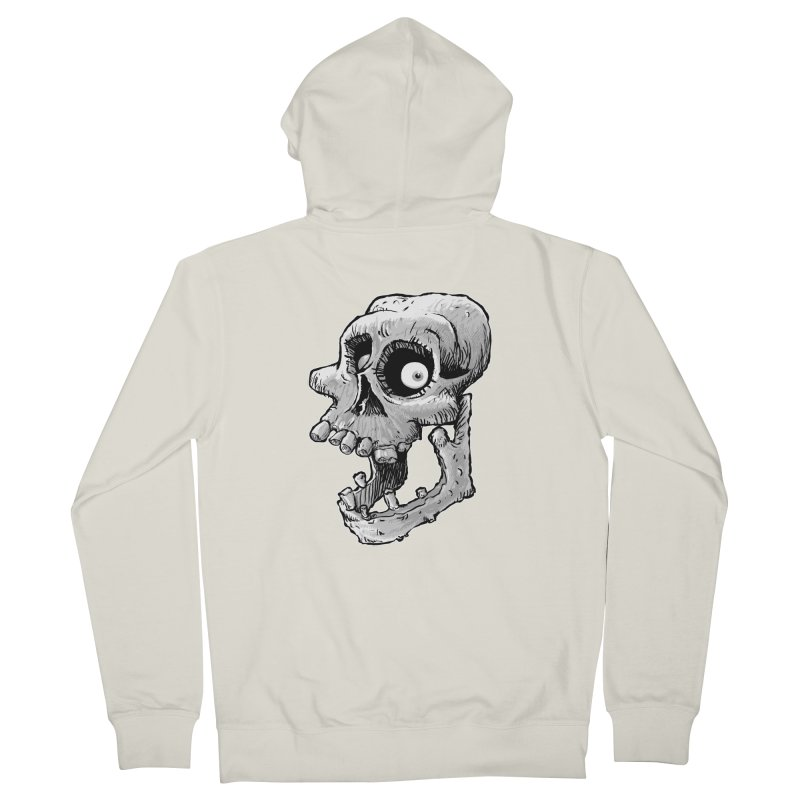 Bonehead Men's Zip-Up Hoody by Billy Allison's Shop