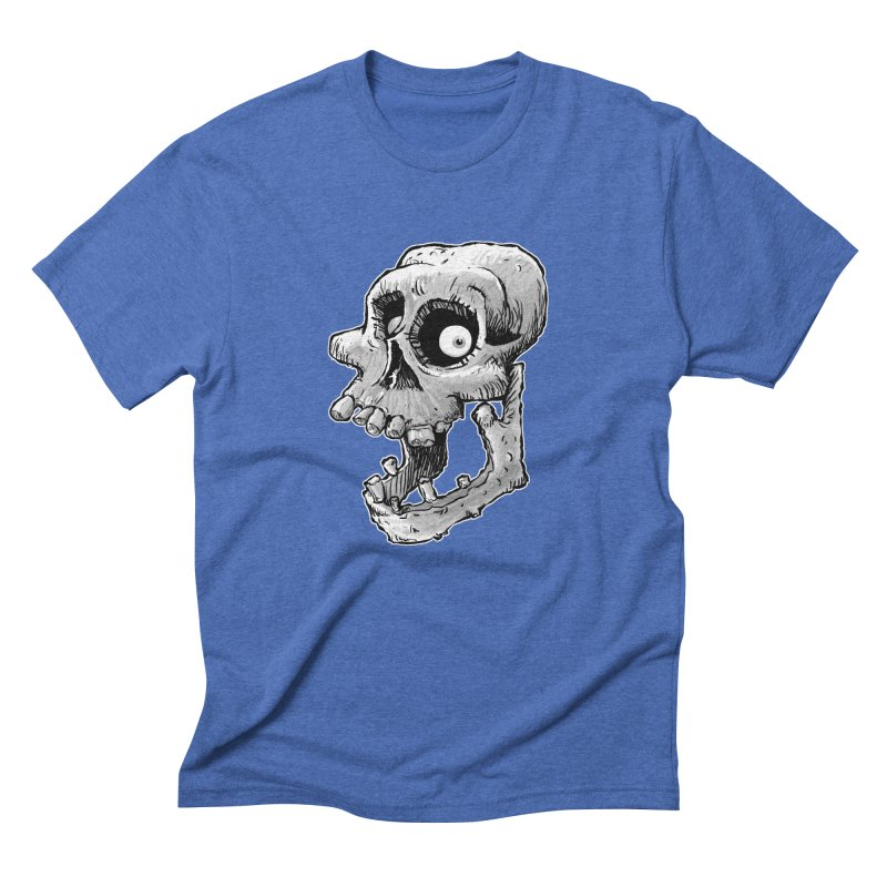 Bonehead Men's Triblend T-Shirt by Billy Allison's Shop