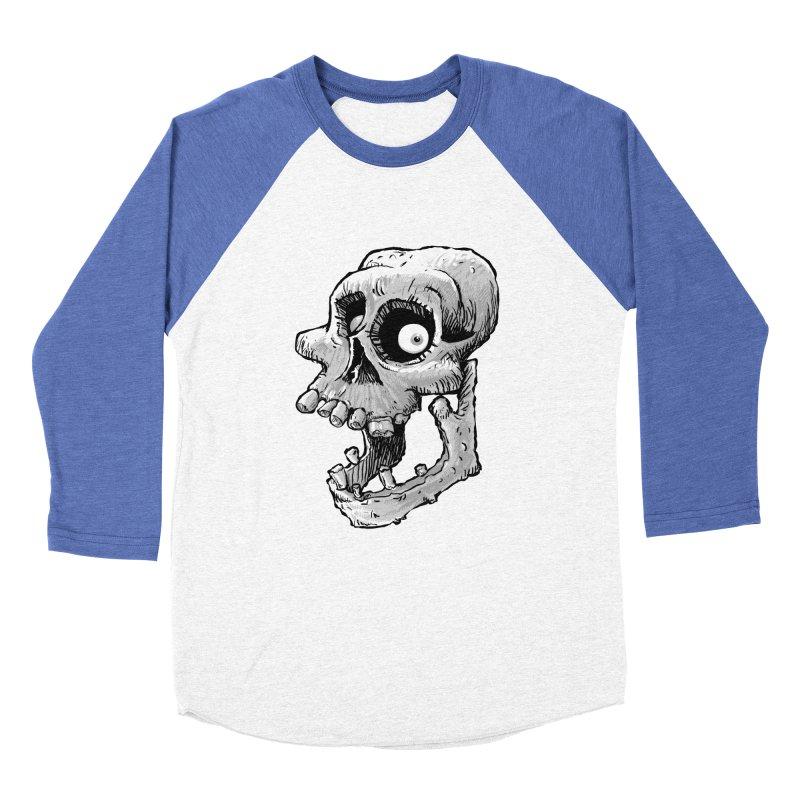 Bonehead Women's Baseball Triblend T-Shirt by Billy Allison's Shop
