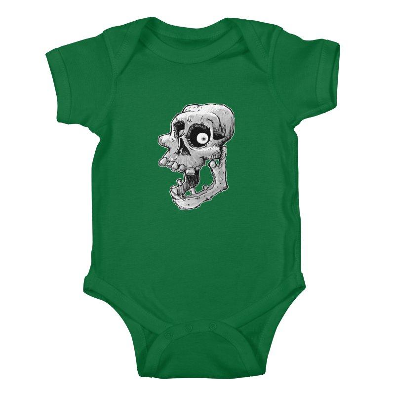 Bonehead Kids Baby Bodysuit by Billy Allison's Shop