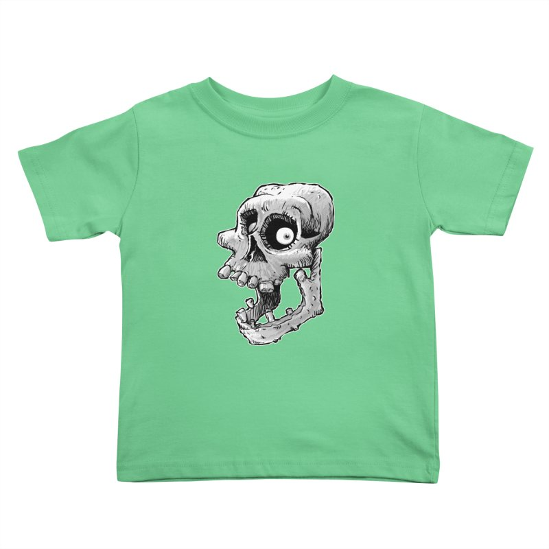 Bonehead Kids Toddler T-Shirt by Billy Allison's Shop
