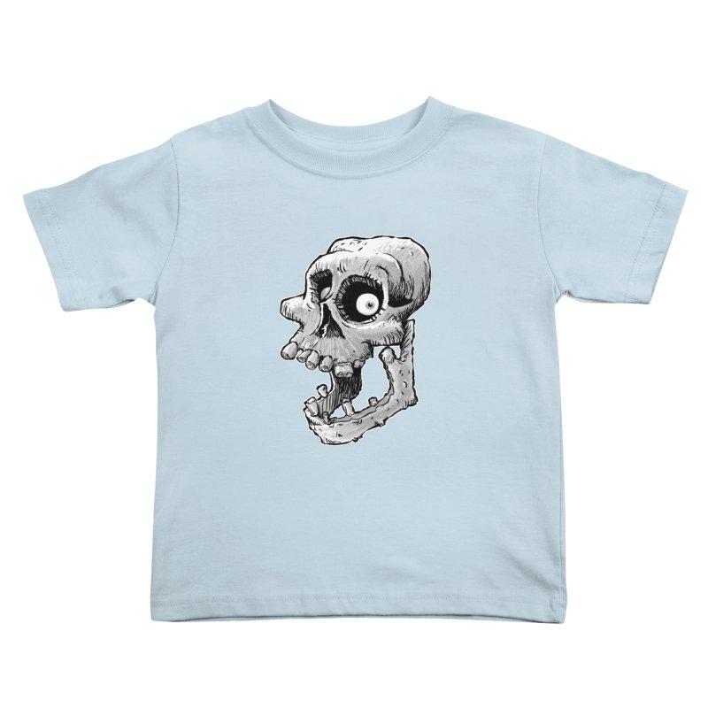 Bonehead Kids Toddler T-Shirt by Billy Allison's Shop