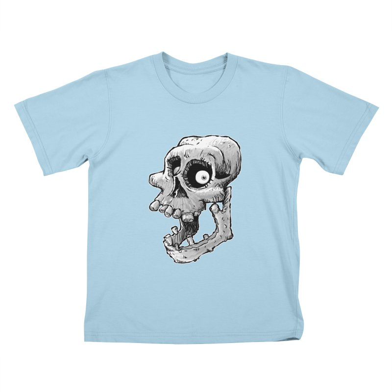 Bonehead Kids T-shirt by Billy Allison's Shop