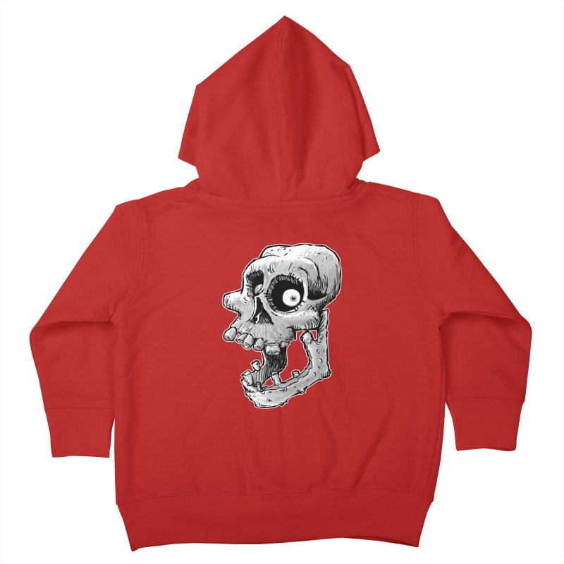 Bonehead Kids Toddler Zip-Up Hoody by Billy Allison's Shop