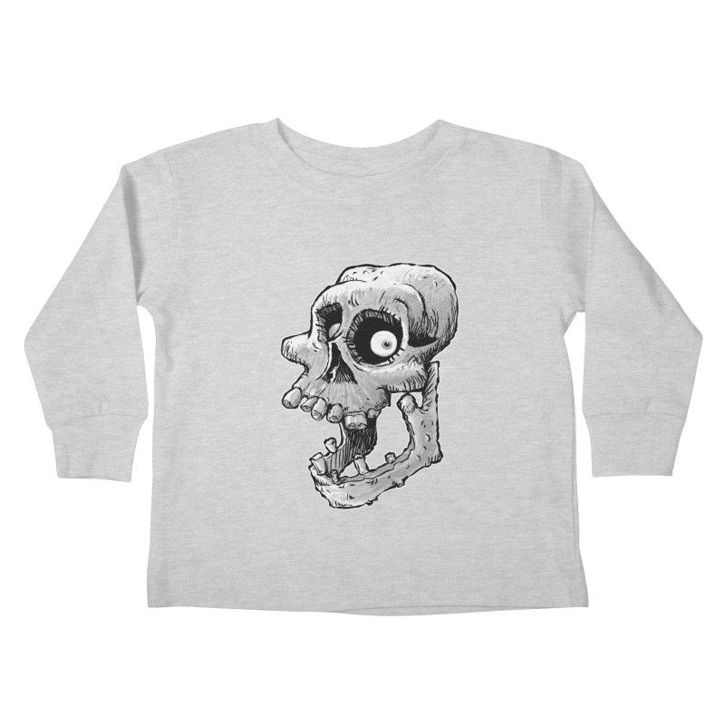 Bonehead Kids Toddler Longsleeve T-Shirt by Billy Allison's Shop
