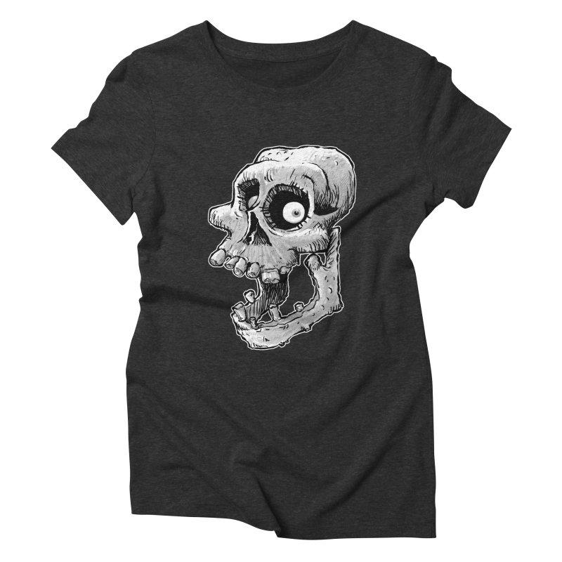 Bonehead Women's Triblend T-shirt by Billy Allison's Shop