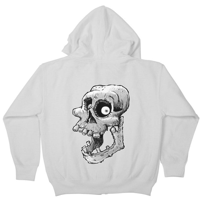 Bonehead Kids Zip-Up Hoody by Billy Allison's Shop