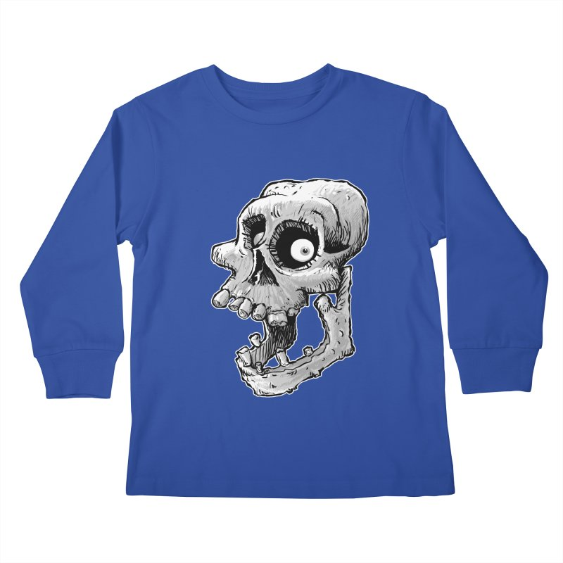 Bonehead Kids Longsleeve T-Shirt by Billy Allison's Shop