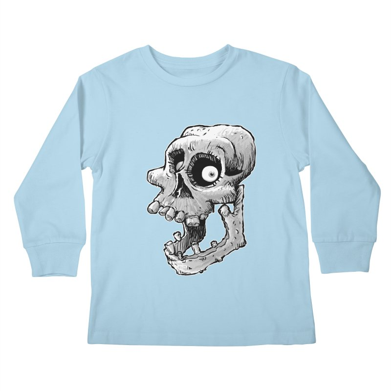 Bonehead Kids Longsleeve T-Shirt by Billy Allison's Shop