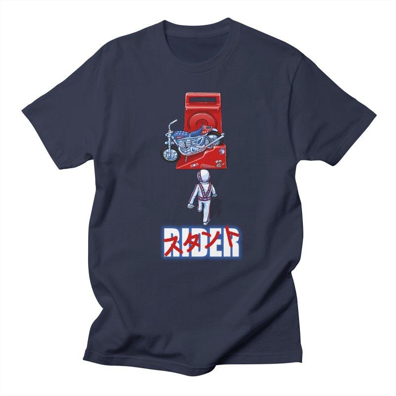 stunt rider Men's T-shirt by Billy Allison's Shop