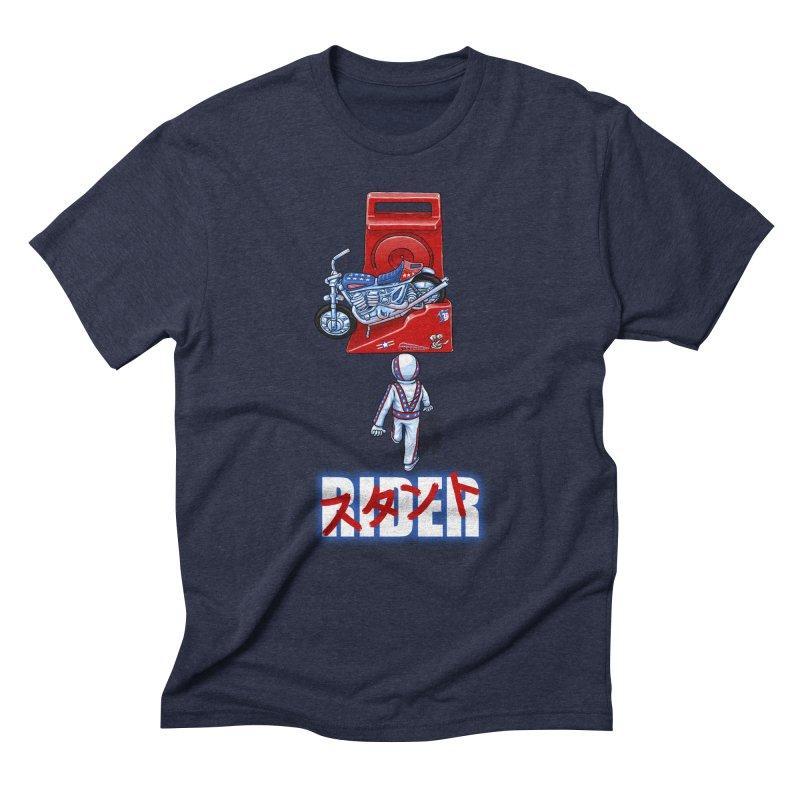 stunt rider Men's Triblend T-Shirt by Billy Allison's Shop
