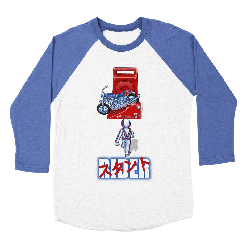 stunt rider Women's Baseball Triblend T-Shirt by Billy Allison's Shop