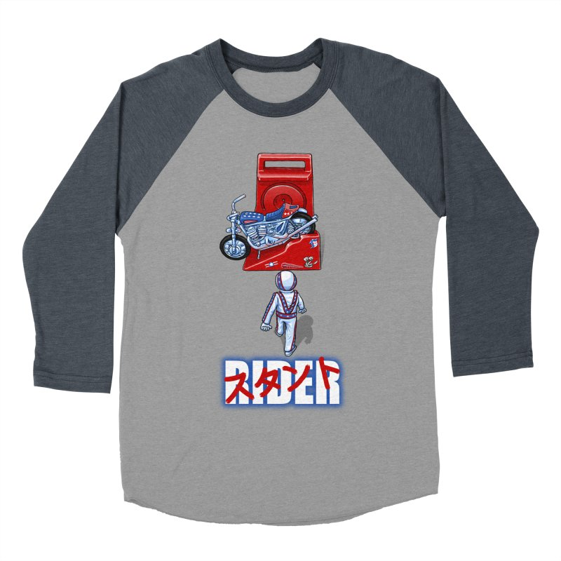 stunt rider Men's Baseball Triblend T-Shirt by Billy Allison's Shop