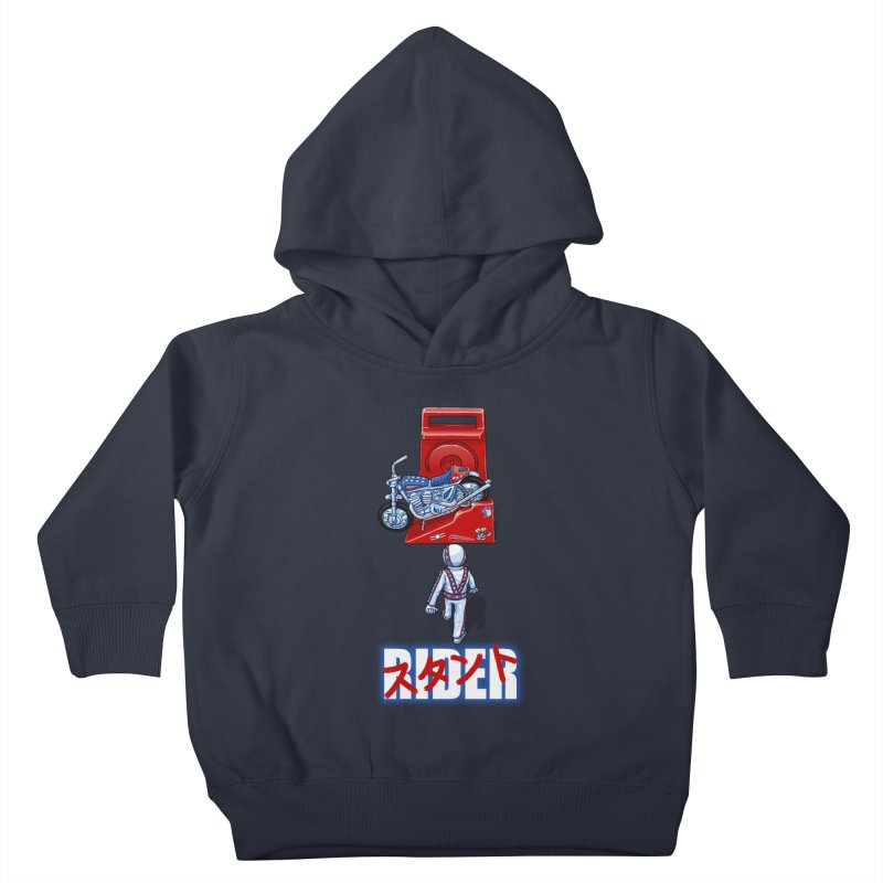 stunt rider Kids Toddler Pullover Hoody by Billy Allison's Shop