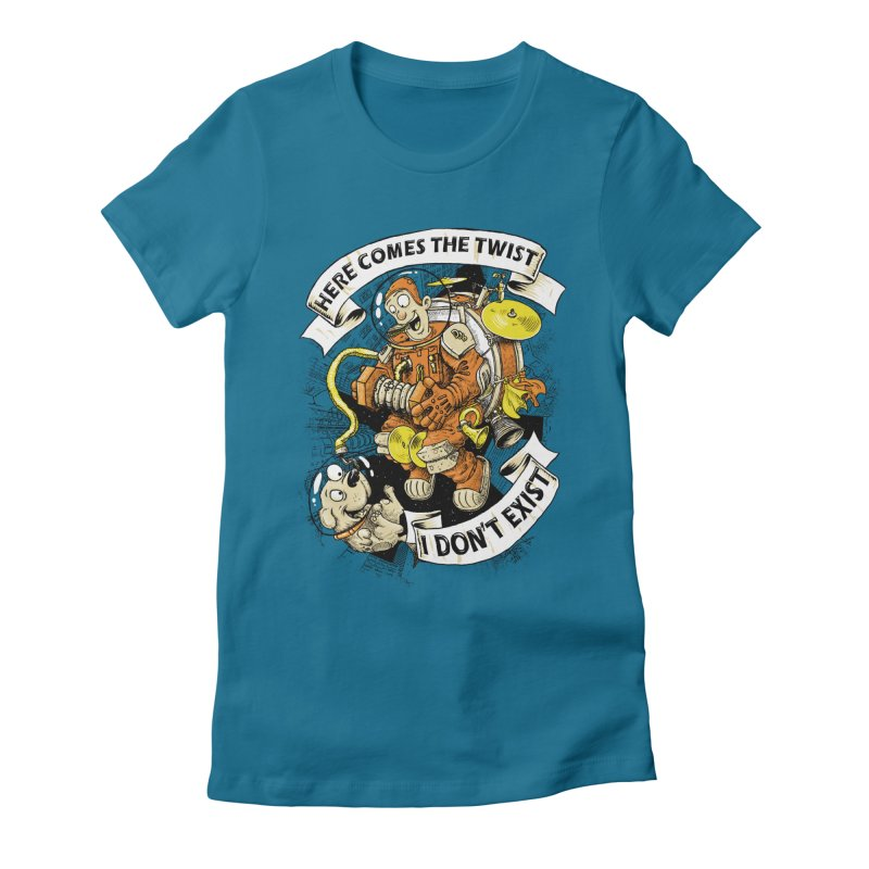 Urban Spaceman Women's Fitted T-Shirt by Billy Allison's Shop