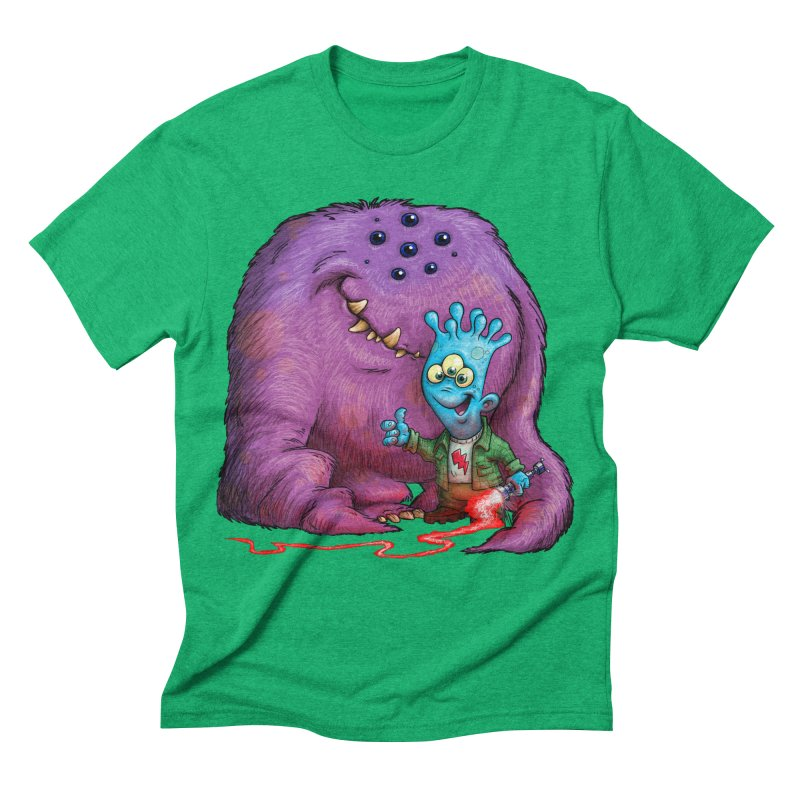 A Boy and his Grogg Men's Triblend T-shirt by Billy Allison's Shop
