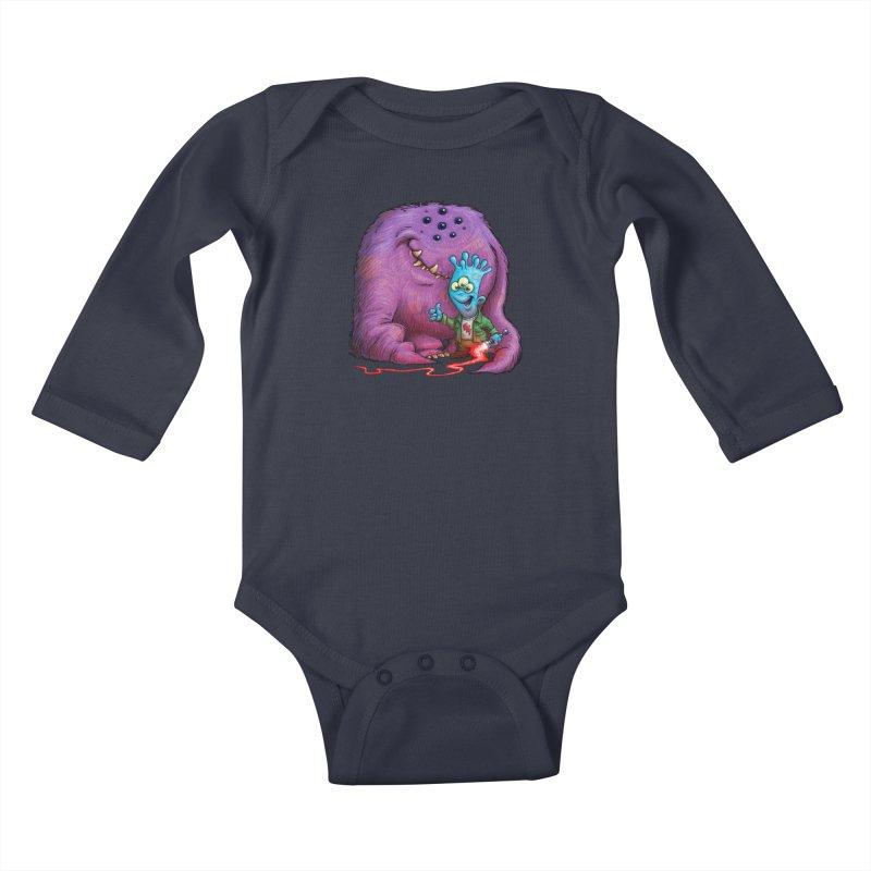 A Boy and his Grogg Kids Baby Longsleeve Bodysuit by Billy Allison's Shop